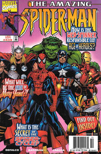 Cover Thumbnail for The Amazing Spider-Man (Marvel, 1963 series) #439 [Newsstand]