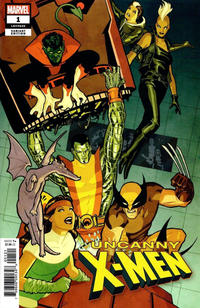 Cover Thumbnail for Uncanny X-Men (Marvel, 2019 series) #1 (620) [Cliff Chiang]