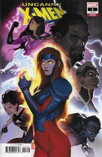 Cover Thumbnail for Uncanny X-Men (Marvel, 2019 series) #1 (620) [Marko Djurdjević]