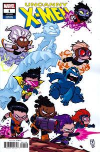 Cover Thumbnail for Uncanny X-Men (Marvel, 2019 series) #1 (620) [Skottie Young]