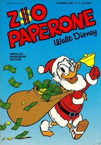 Cover Thumbnail for Zio Paperone (Arnoldo Mondadori Editore, 1987 series) #14
