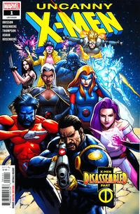 Cover Thumbnail for Uncanny X-Men (Marvel, 2019 series) #1 (620)