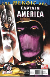 Cover Thumbnail for Captain America (Marvel, 2005 series) #606 [Newsstand]