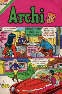 Cover Thumbnail for Archi Serie Avestruz (Editorial Novaro, 1975 series) #211