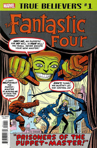 Cover Thumbnail for True Believers: Fantastic Four - Puppet Master (Marvel, 2019 series) #1