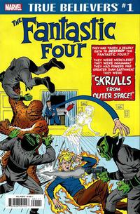 Cover Thumbnail for True Believers: Fantastic Four - Skrulls (Marvel, 2019 series) #1
