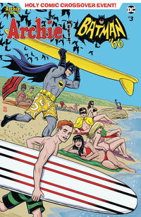 Cover Thumbnail for Archie Meets Batman '66 (Archie, 2018 series) #3 [Cover A Michael and Laura Allred]
