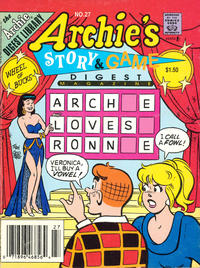 Cover Thumbnail for Archie's Story & Game Digest Magazine (Archie, 1986 series) #27