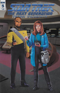 Cover Thumbnail for Star Trek: The Next Generation: Terra Incognita (IDW, 2018 series) #5 [Cover B Photo Cover]