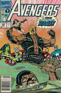 Cover Thumbnail for The Avengers (Marvel, 1963 series) #328 [Newsstand]