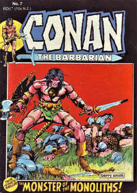 Cover Thumbnail for Conan the Barbarian (Yaffa / Page, 1977 series) #7