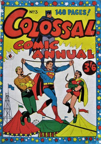 Cover Thumbnail for Colossal Comic Annual (K. G. Murray, 1956 series) #3
