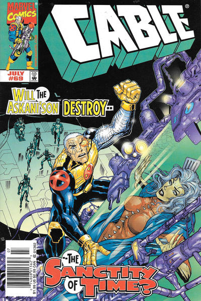 Cover for Cable (Marvel, 1993 series) #69 [Newsstand]