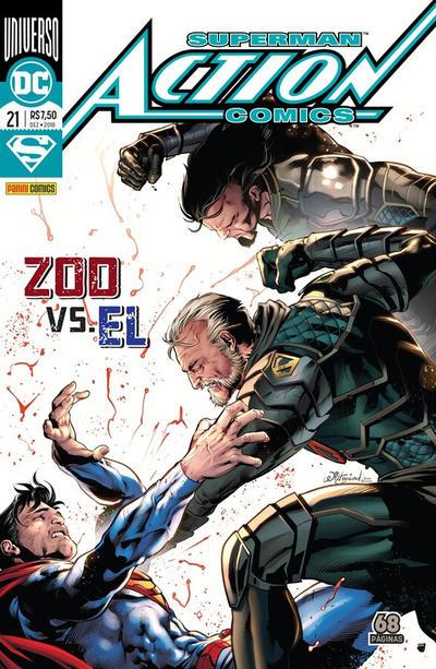 Cover for Action Comics (Panini Brasil, 2017 series) #21