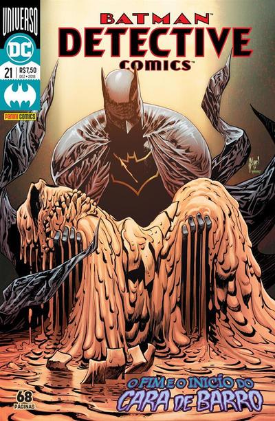 Cover for Detective Comics (Panini Brasil, 2017 series) #21