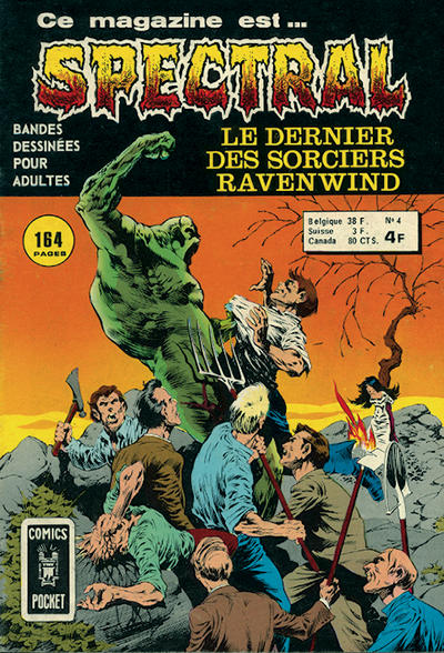 Cover for Spectral (Arédit-Artima, 1974 series) #4