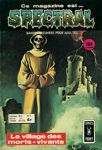 Cover for Spectral (Arédit-Artima, 1974 series) #5