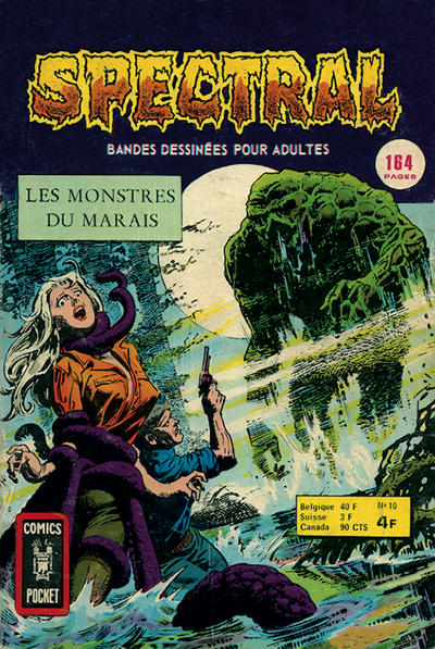 Cover for Spectral (Arédit-Artima, 1974 series) #10