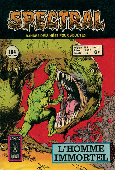 Cover for Spectral (Arédit-Artima, 1974 series) #11