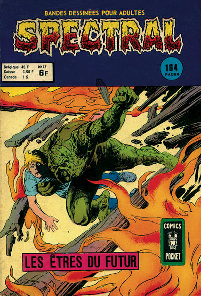 Cover for Spectral (Arédit-Artima, 1974 series) #13
