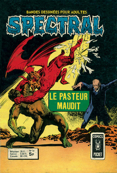 Cover for Spectral (Arédit-Artima, 1974 series) #14