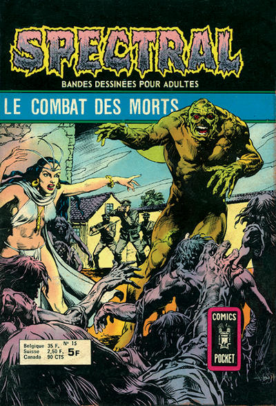 Cover for Spectral (Arédit-Artima, 1974 series) #15