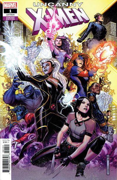 Cover for Uncanny X-Men (Marvel, 2019 series) #1 (620) [Marko Djurdjević]