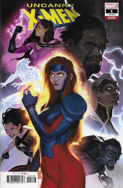 Cover for Uncanny X-Men (Marvel, 2019 series) #1 (620) [J. Scott Campbell Exclusive - Cover C]