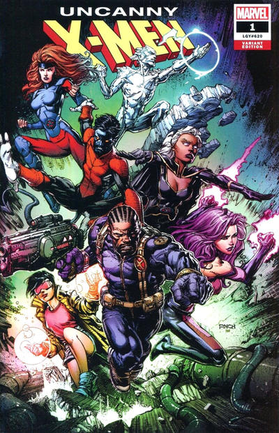 Cover for Uncanny X-Men (Marvel, 2019 series) #1 (620) [Local Comic Shop Day 2018 - Mike Deodato]