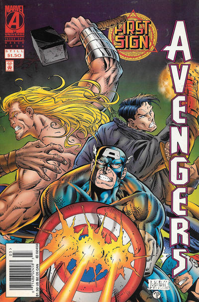 Cover for The Avengers (Marvel, 1963 series) #396 [Newsstand]