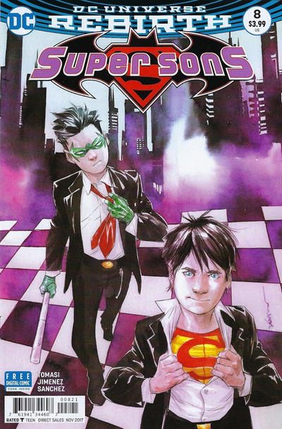 Cover for Super Sons (DC, 2017 series) #8
