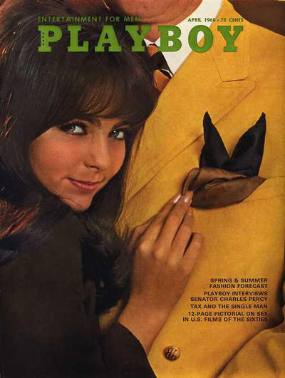Cover for Playboy (Playboy, 1953 series) #v15#4