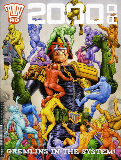 Cover for 2000 AD (Rebellion, 2001 series) #2110