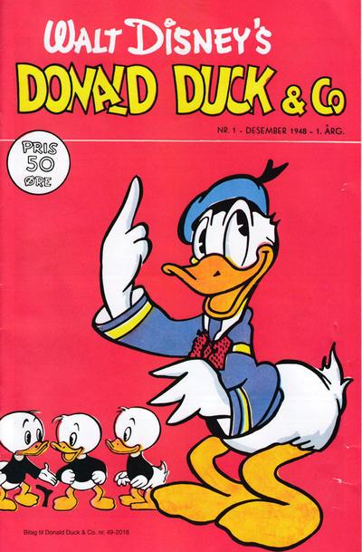 Cover for Bilag til Donald Duck & Co (Hjemmet / Egmont, 1997 series) #49/2018