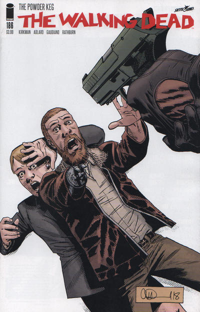 Cover for The Walking Dead (Image, 2003 series) #186 [Cover A]