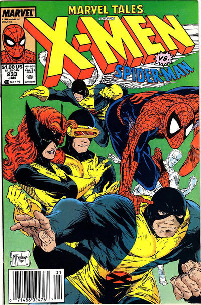 Cover for Marvel Tales (Marvel, 1966 series) #233 [Direct]