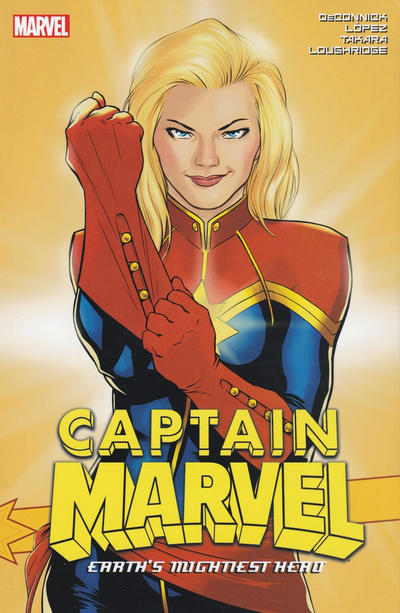 Cover for Captain Marvel: Earth's Mightiest Hero (Marvel, 2016 series) #3