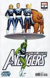 Cover for Avengers (Marvel, 2018 series) #6 [John Cassaday 'Return of the Fantastic Four']