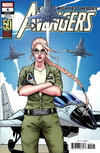 Cover for Avengers (Marvel, 2018 series) #4 (694) [Kate Niemczyk 'Carol Danvers 50th Anniversary']