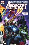 Cover for Avengers (Marvel, 2018 series) #10 (700)