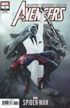 Cover for Avengers (Marvel, 2018 series) #7 (697) [Eve Ventrue 'Marvel's Spider-Man' Video Game Art]