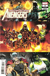 Cover for Avengers (Marvel, 2018 series) #3 (693) [Second Printing - Paco Medina]