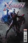 Cover Thumbnail for Astonishing X-Men (2017 series) #3 [Francesco Mattina 'Venomized']