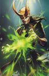 Cover for Avengers (Marvel, 2018 series) #9 (699) [Jong-Ju Kim 'Battle Lines']