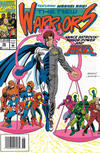 Cover for The New Warriors (Marvel, 1990 series) #36 [Newsstand]