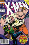 Cover Thumbnail for The Uncanny X-Men (1981 series) #278 [Newsstand]