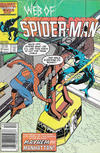 Cover for Web of Spider-Man (Marvel, 1985 series) #21 [Newsstand]