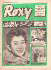 Cover Thumbnail for Roxy (Amalgamated Press, 1958 series) #21 November 1959 [89]