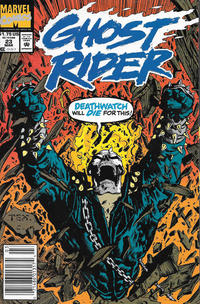 Cover Thumbnail for Ghost Rider (Marvel, 1990 series) #23 [Newsstand]
