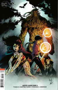 Cover Thumbnail for Justice League Dark (DC, 2018 series) #4 [Greg Capullo & Jonathan Glapion Variant Cover]